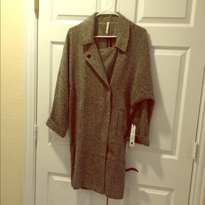 NWT Willow & Clay Long Jacket